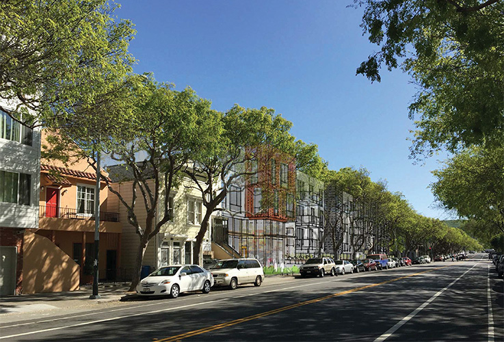 2675 FOLSOM ST, apartment building, San Francisco, CA, Michael Wilk, Wilk ARCH, Architectural Design Firm
