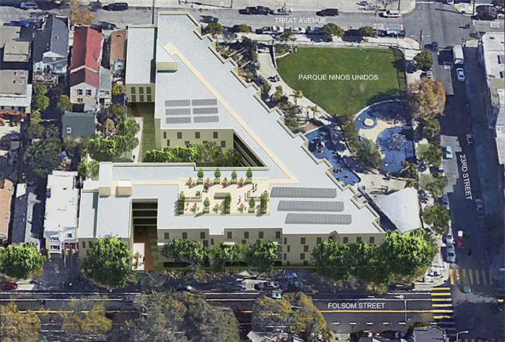 2675 FOLSOM ST, apartment building, San Francisco, CA, Michael Wilk, Wilk ARCH, Architectural Design Firm