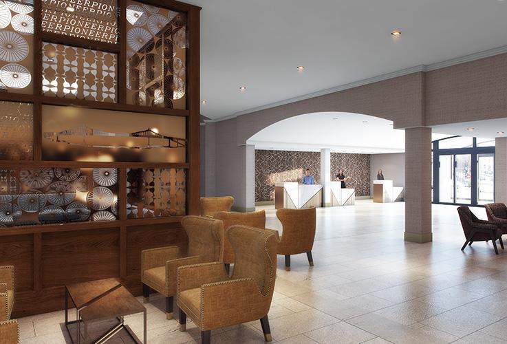 SHERATON PDX, hotel, Portland, OR, Michael Wilk, Wilk ARCH, Architectural Design Firm